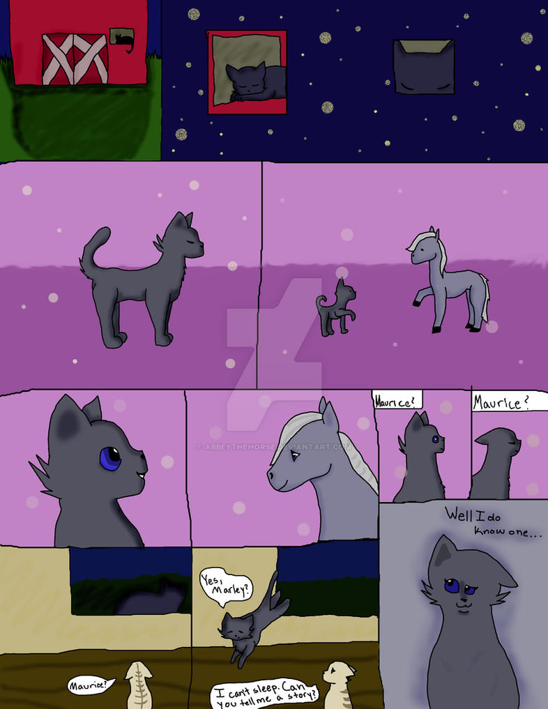 Graphic Novel Page 1 by AbbeyTheHorse