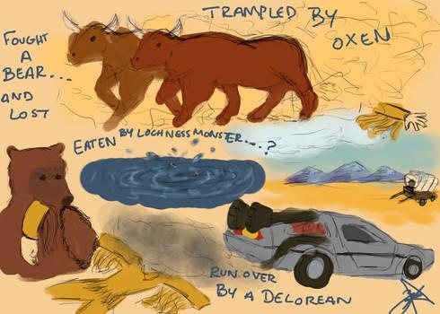 Oregon Trail Deaths