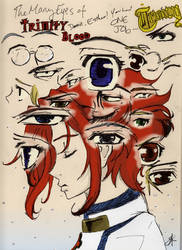 The Many Eyes of Trinity Blood