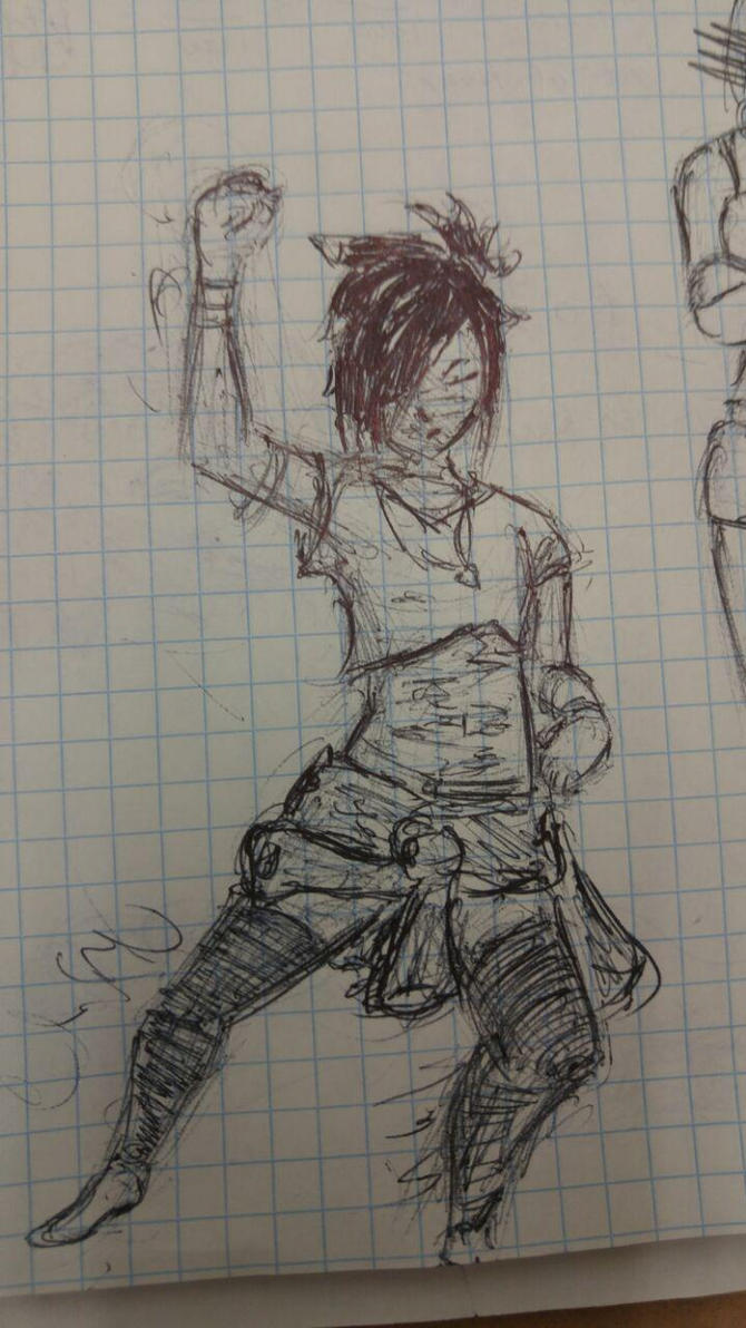 Vallady Sketch by drakinite