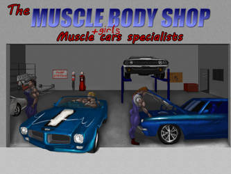 Muscle Girls and Muscle Cars: Women at Work by polybcarbonate