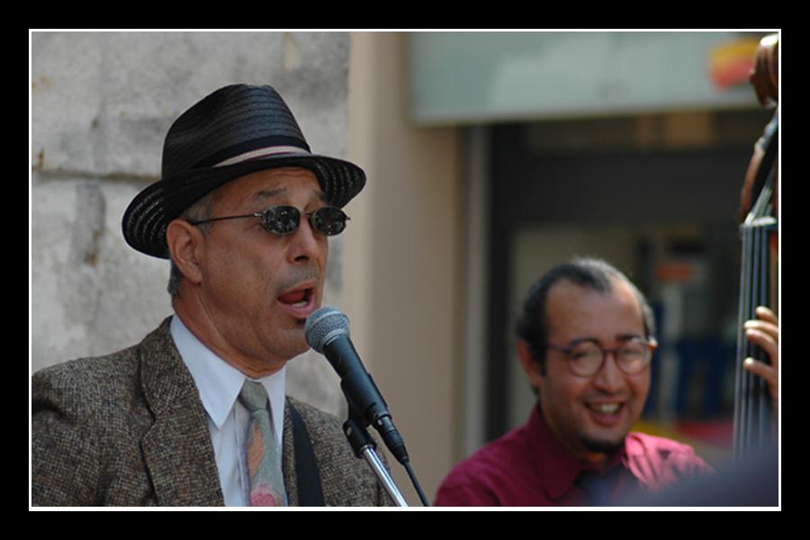 Jazz Band: singer