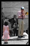 Jazz Band: girl