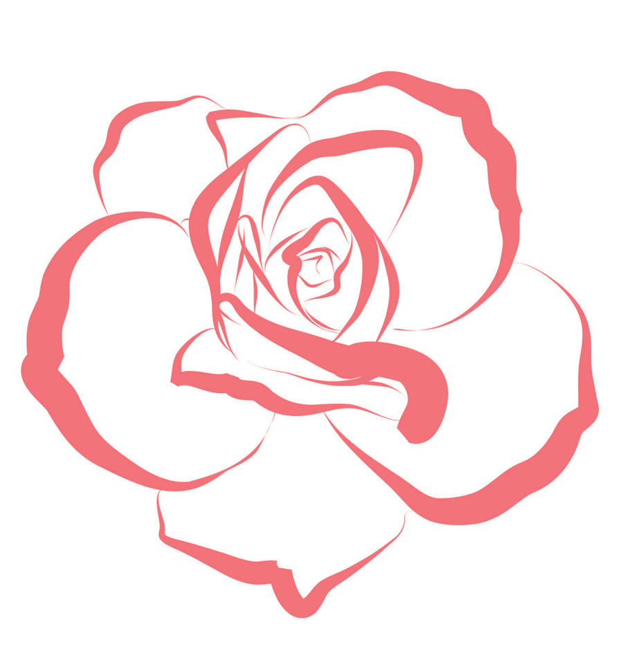 line of roses clipart - photo #3