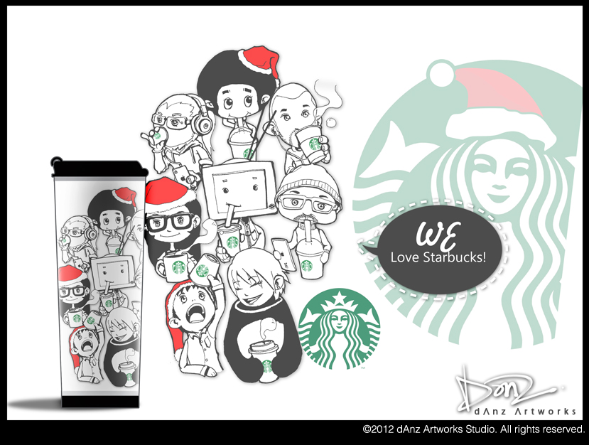 We love starbucks by danzspiritx on deviantart we love starbucks by danzspiritx pronofoot35fo Gallery