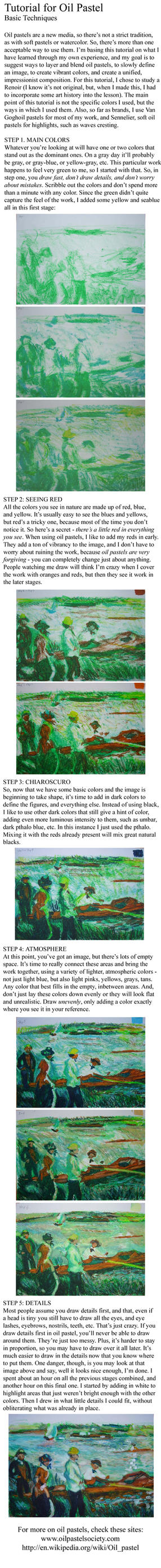 TUTORIAL TRADITIONAL art - OIL - pastel oil on Drawing-tutorial ...