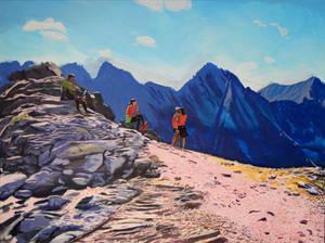 The Approach to Koprovsky Peak WIP - Step 5