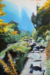 Mountain Path in the Tatras no. 3 WIP - Step 5
