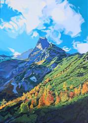 Jastrabia Veza, The High Tatras