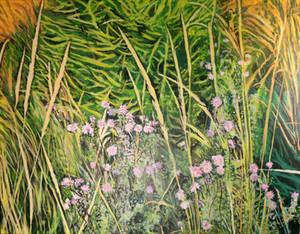 Wild Flowers in the Tatras WIP - Step 9
