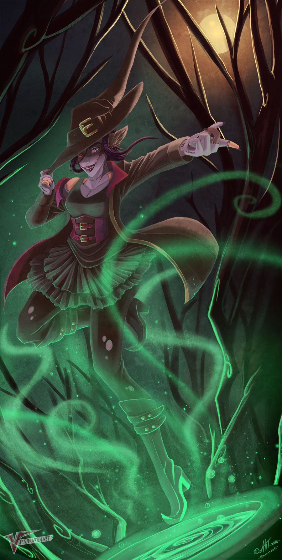 Witch by Ernunoob