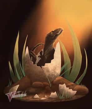 Tyrannosaurus hatchling