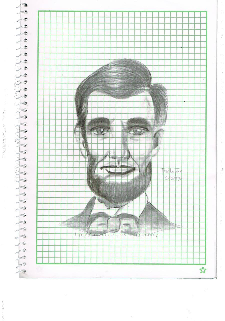 Abraham Lincoln by trishaa08