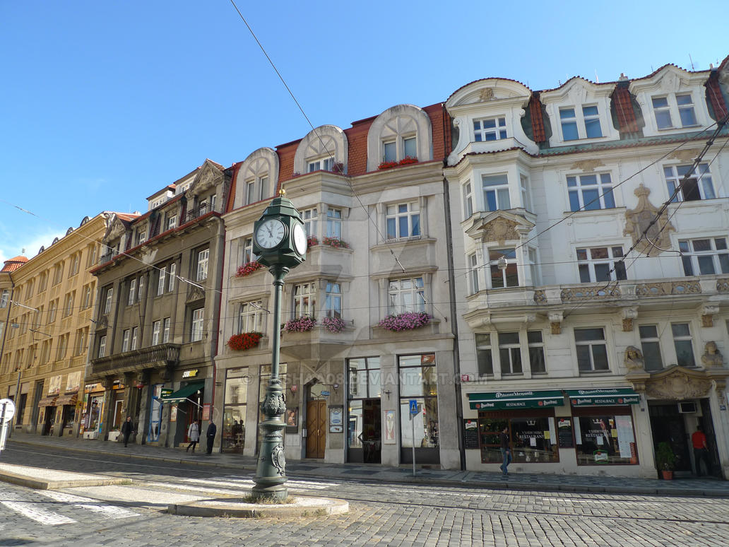 Somewhere in the Streets of Prague by trishaa08