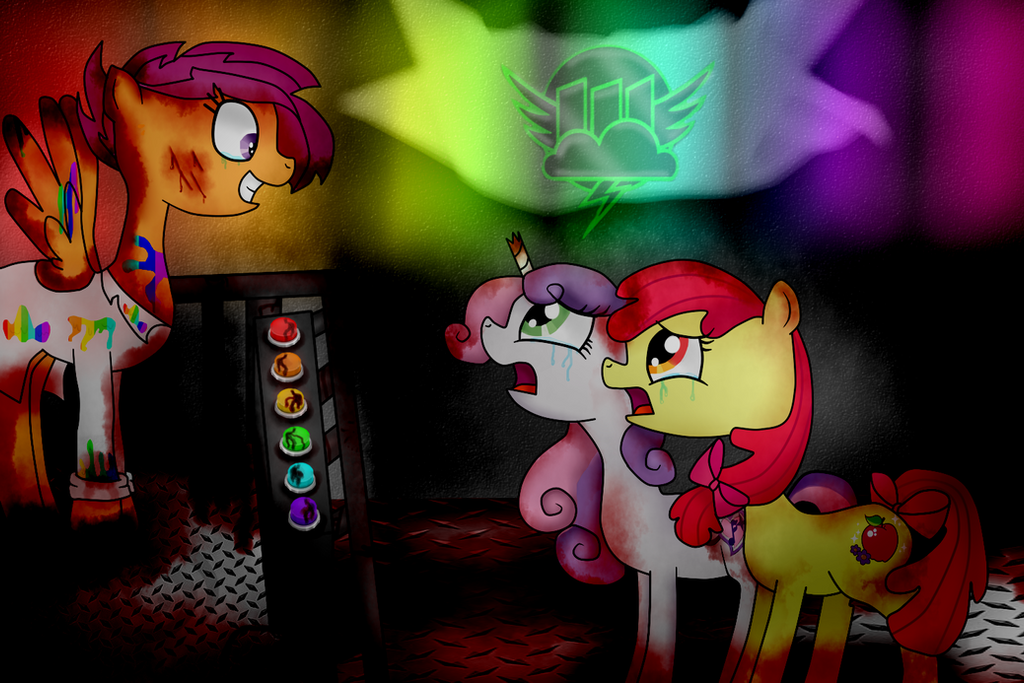 Scootaloo Factory/Rainbow Factory By 9cynthia On DeviantArt