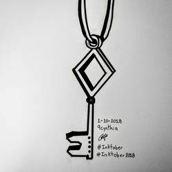 Llave inktober 2018 by 9cynthia