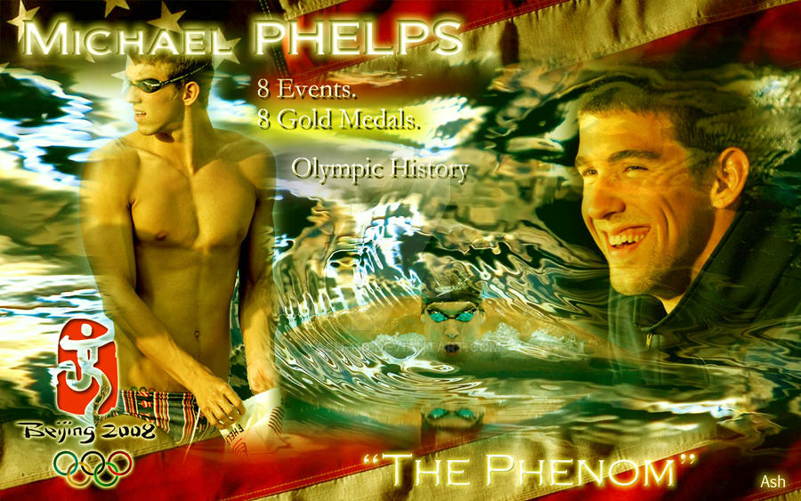 Michael Phelps by ash-110