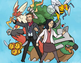 elementary|pkmn: double battle by simply-irenic