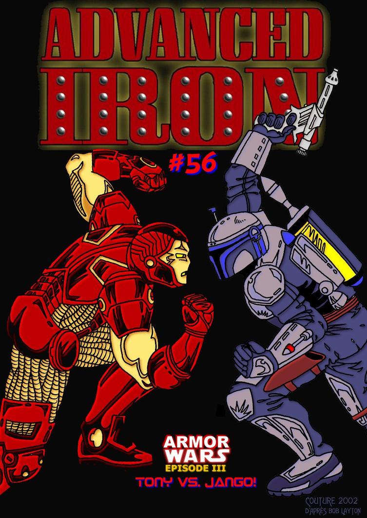 Iron Man versus Jango Fett by Cousture on deviantART