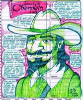 Samuel de Champlain by Cousture
