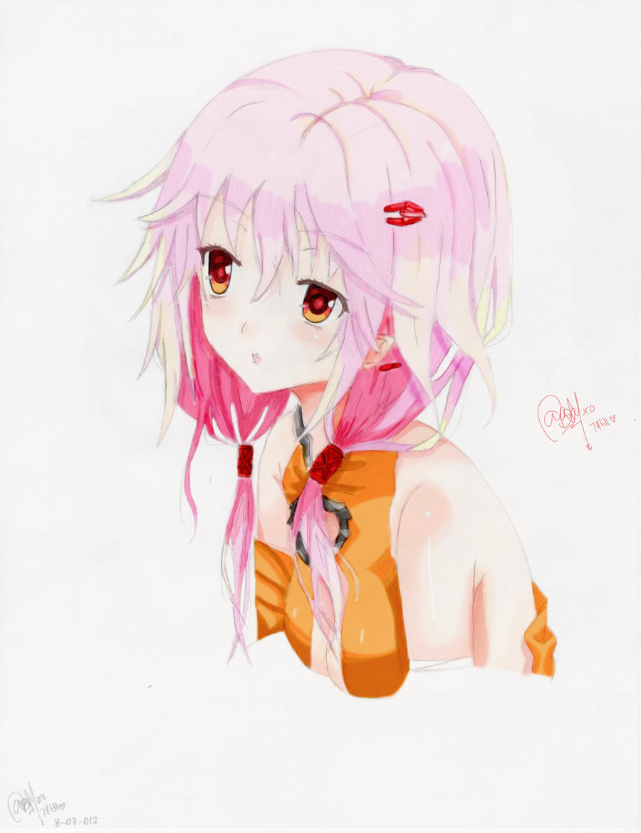Yuzuriha Inori (Colored) by gabbygivencya
