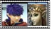 Ike x Zelda stamp by PrincessZelda2