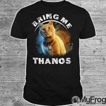 Goose cat Bring me Thanos shirt by myfrogteee