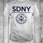 SDNY Southern district of New York shirt