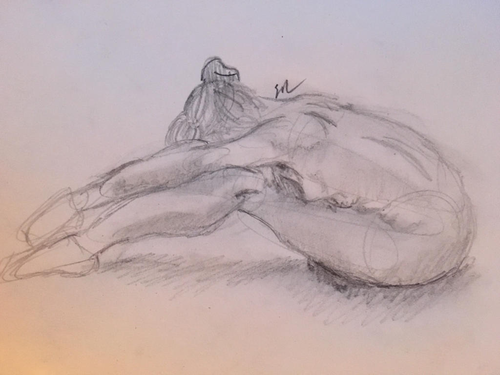 Figure drawing by KarCastiel