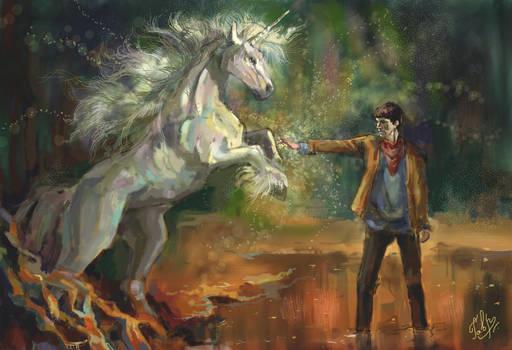 Merlin and Unicorn