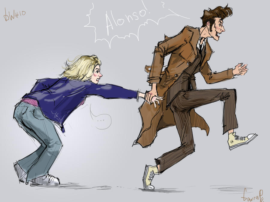Doctor And Rose By Lizardme On DeviantArt