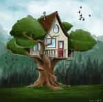 Treehouse by nalatariel