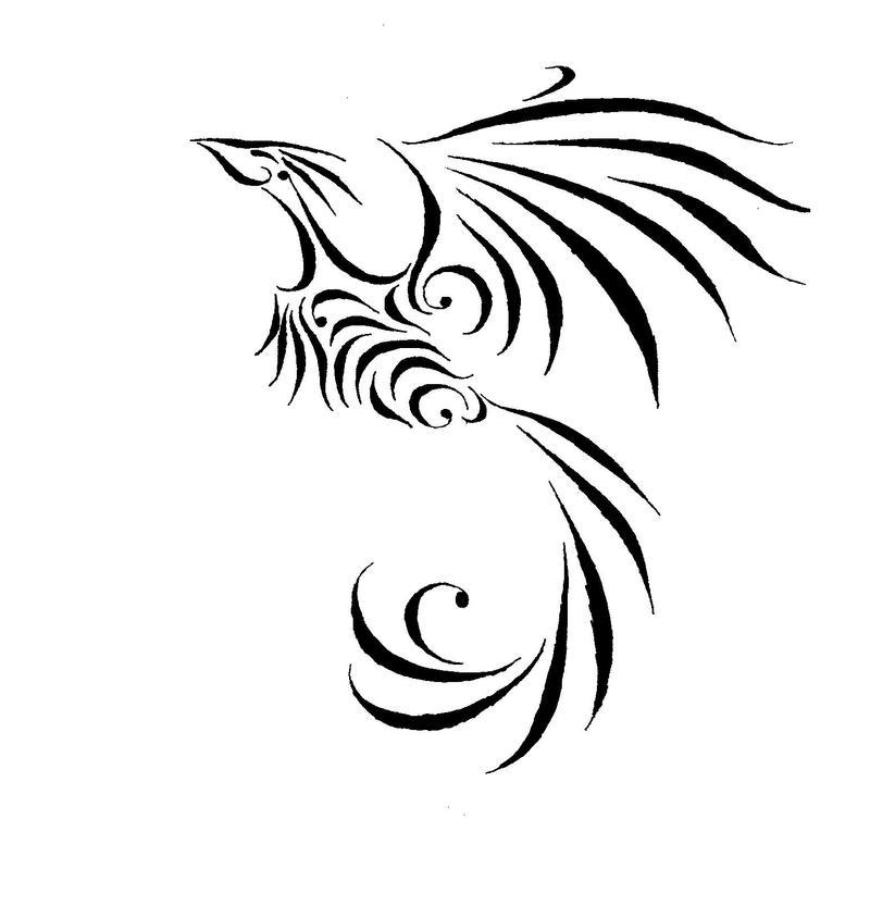 The little fenix by martur on deviantart for Fenix tribal tattoo