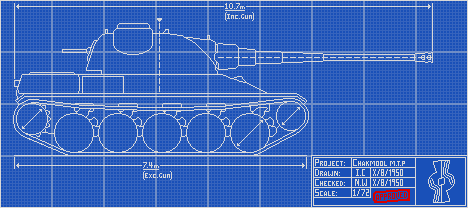 Chakmool Medium Tank Project Concept by THEICYICY