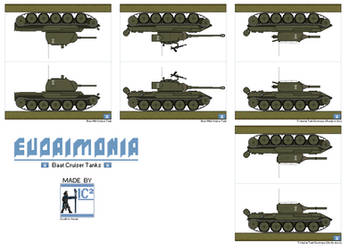 Baat Cruiser Tanks by THEICYICY