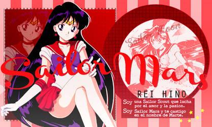 Firma Sailor Mars by Rin-Kaleido-Rehg