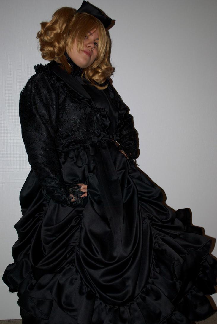 Black Victorian Dress