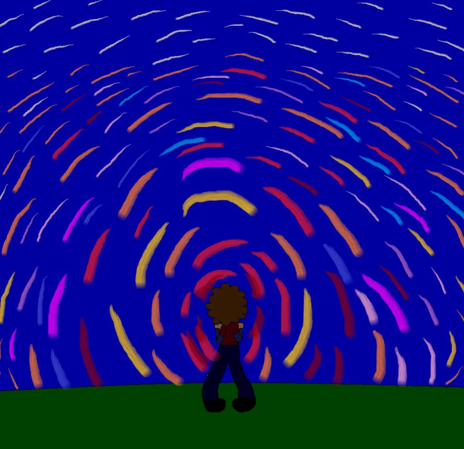 Jacob Looking To The Sky by LaurenKatz