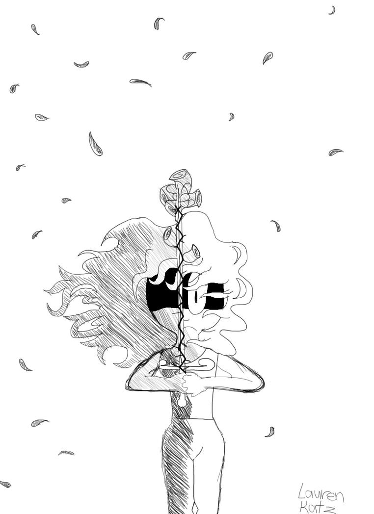 Another Ariella Sketch by LaurenKatz