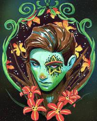 Lilies by silkytea