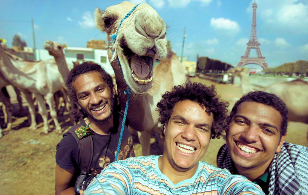 Paris Camel Selfie by reformator