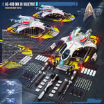 AC-409 Mk III Valkyrie Federation Warp Fighter