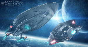Launching the Allegiant   Star Trek: Theurgy