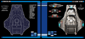 U.S.S. Allegiant | Manta-class Scout Exterior