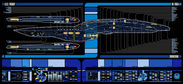 U.S.S. Theurgy NX-79854 | LCARS MSD