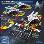 KD-56 Gryphon-class Federation Warp Fighter