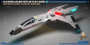 KD-56 Gryphon-class Warp Fighter