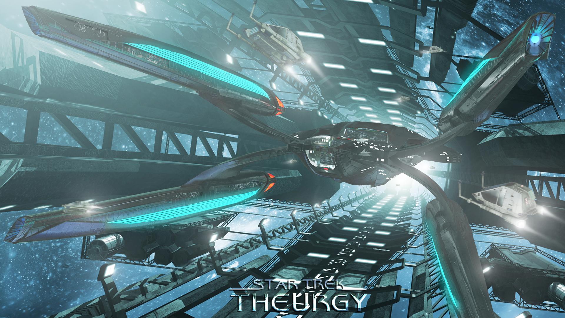 Drydock, Year 2377   Star Trek: Theurgy