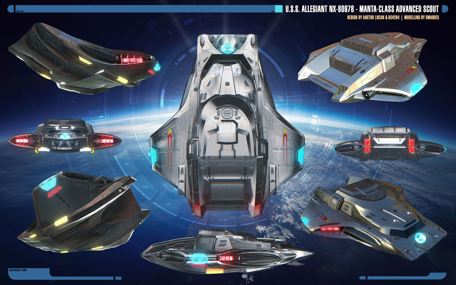 Overview | Manta-class Advanced Scout