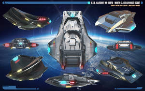 Overview | Manta-class Advanced Scout by Auctor-Lucan